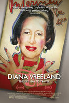 Poster art for &quot;Diana Vreeland: The Eye Has to Travel.&#39;&#39;