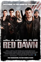 "Poster art for ""Red Dawn."""