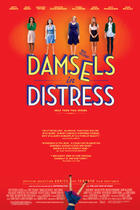 "Poster art for ""Damsels in Distress."""