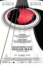 "Poster art for ""Searching for Sugar Man."""