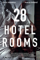 "Poster art for ""28 Hotel Rooms."""
