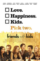 "Poster art for ""Friends with Kids."""