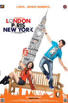 "Poster art for ""London Paris New York."""