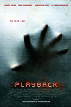 "Poster art for ""Playback."""