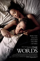 "Poster art for ""The Words."""