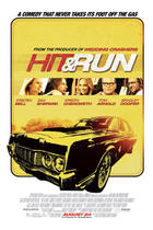 "Poster art for ""Hit and Run."""