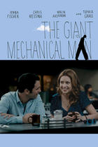 "Poster art for ""The Giant Mechanical Man."""