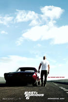 "Poster art for ""Fast & Furious 6."""