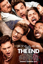 "Poster art for ""This is The End."""