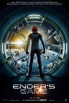 "Teaser poster for ""Ender's Game."""