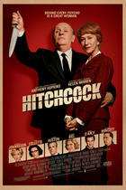 "Poster art for ""Hitchcock."""