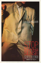 "Poster art for ""Stop Making Sense."""