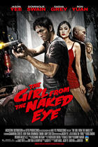 "Poster art for ""The Girl from the Naked Eye."""