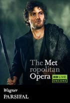 "Poster art for ""The Metropolitan Opera: Parsifal Encore."""