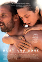 "Poster art for ""Rust and Bone."""