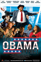 "Poster art for ""The Obama Effect."""