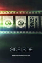 "Poster art for ""Side by Side."""