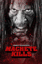 "Poster art for ""Machete Kills."""