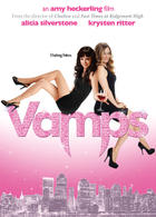 "Poster art for ""Vamps."""