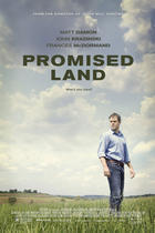 "Poster art for ""Promised Land."""