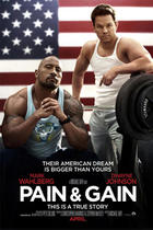 "Poster art for ""Pain and Gain."""