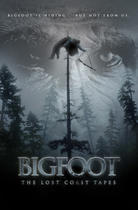 "Poster art for ""Bigfoot: The Lost Coast Tapes."""
