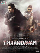 "Poster art for ""Thaandavam."""