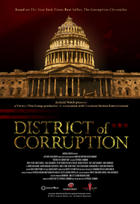 "Poster art for ""District of Corruption."""