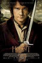 "Poster art for ""The Hobbit: An Unexpected Journey - An IMAX Experience."""