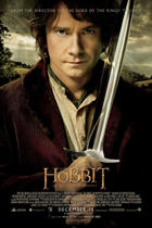 "Poster art for ""The Hobbit: An Unexpected Journey HFR IMAX 3D."""
