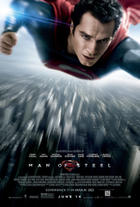 "Poster art for ""Man of Steel: An IMAX 3D Experience."""