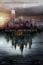 "Poster art for ""The Mortal Instruments: City of Bones."""