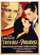 "Poster art for ""Trouble in Paradise."""