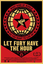 "Poster art for ""Let Fury Have the Hour."""