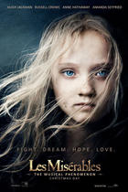 "Poster art for ""Les Miserables: The IMAX Experience."""