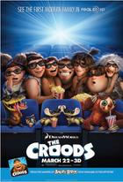 "Poster art for ""The Croods 3D."""