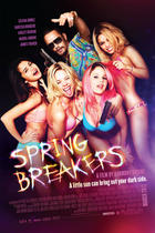 "Poster art for ""Spring Breakers."""