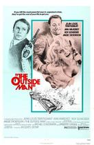 "Poster art for ""The Outside Man."""