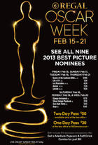 "Poster art for ""Oscar Regal Week."""