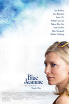 "Poster art for ""Blue Jasmine."""