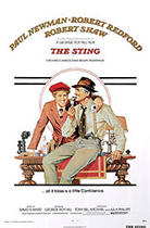 "Poster art for ""The Sting."""