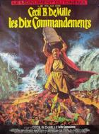 "Poster art for ""The Ten Commandments."""
