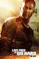"Poster art for ""Live Free or Die Hard."""