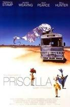 "Poster art for ""The Adventures of Priscilla, Queen of the Desert."""