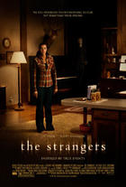 "Poster art for ""The Strangers."""