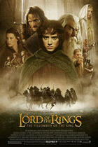 "Poster art for ""The Lord of the Rings: The Fellowship of the Ring."""