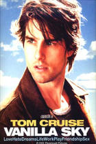 "Poster art for ""Vanilla Sky."""
