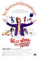 "Poster art for ""Willy Wonka and the Chocolate Factory."""