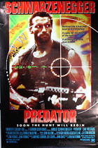 "Poster art for ""Predator."""