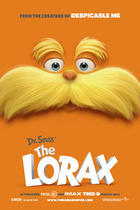 "Poster art for ""The Lorax."""